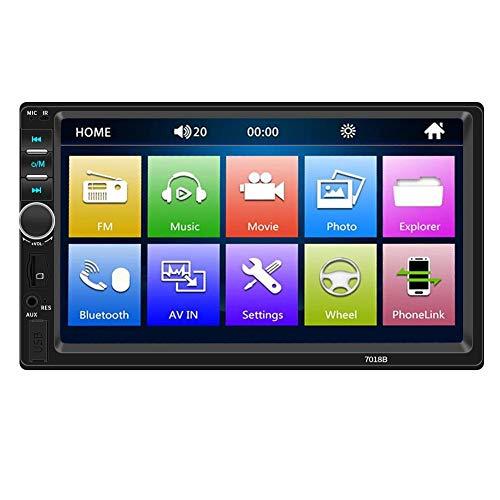 (7018B Car Radio 7 Inch Dash Audio MP5 Player 1080P Rear View (w/Camera))