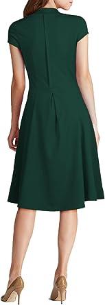 Sweetmeet damska sukienka balowa w stylu vintage, lata 40.: Odzież