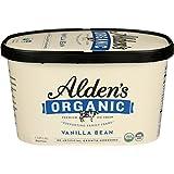 Aldens, Organic Vanilla Bean Ice Cream, 48 oz (Frozen)