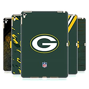 Official NFL Green Bay Packers Logo Hard Back Case for Apple iPad Pro 9.7 by Head Case Designs