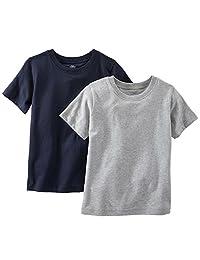 Carter's Boy's 2-Pack Short-Sleeve Cotton Undershirts Tee Set