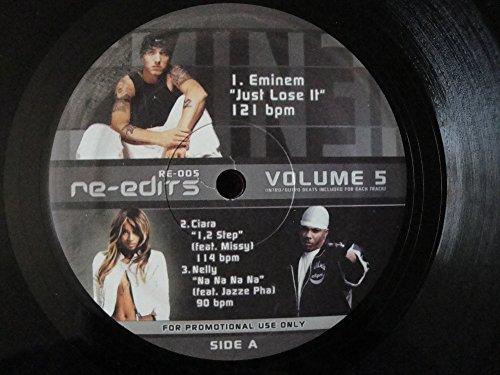Various Artist Re-Edits RE-005 Volume 5 Vinyl Lp DJ Promo with Eminem