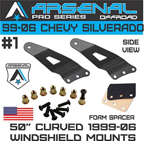 """No.1 1999-2006 Chevy Silverado & GMC Sierra 50"""" Curved LED"""