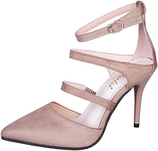DOLDOA Chaussures à Talons Hauts Femme Escarpins