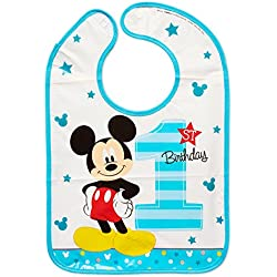 Amscan Disney Mickey Mouse 1st Birthday Bib