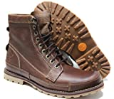 Timberland Men's Earthkeepers 6'' Lace-Up Boot, Burnished Brown, 9 M US