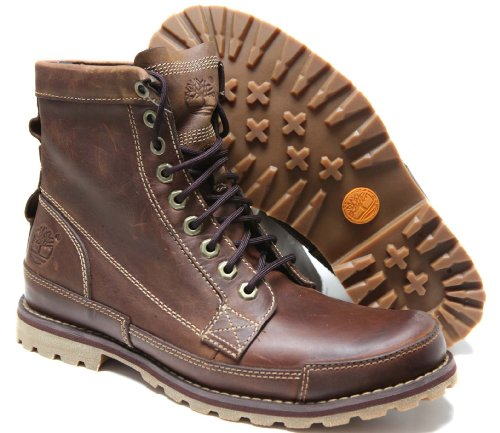 Timberland Men's Earthkeepers 6'' Lace-Up Boot, Burnished Brown, 9 M US by Timberland