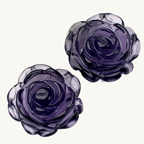 top-plaza-2pcs-20mm-carved-gemstone-rose-flower-amethyst-pendant-necklace-silver-plated-chain-18