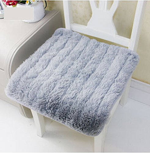 Soft Thicken Plush Chair Pads with Ties Winter Indoor Warmth