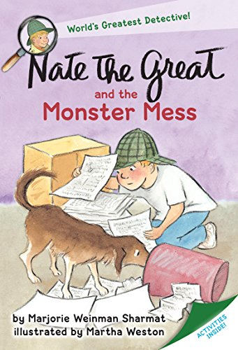 Nate the Great and the Monster (Halloween Crafts 1st Grade)
