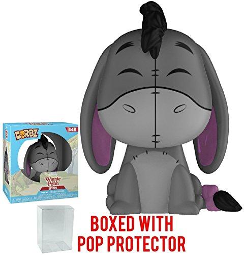 Funko Dorbz Disney: Winnie the Pooh - Eeyore Vinyl Figure (Bundled with Pop Box Protector Case) - Eeyore Figure