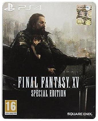 FF XV (15) PS-4 AT Steelbook Ed. Final Fantasy 15 [Importación ...