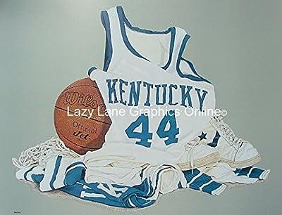 Ford Kentucky Wildcats Wildcat Basketball Art Print