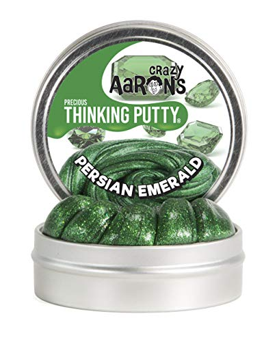 - Crazy Aaron's Thinking Putty, 1.6 Ounce, Precious Gems Persian Emerald