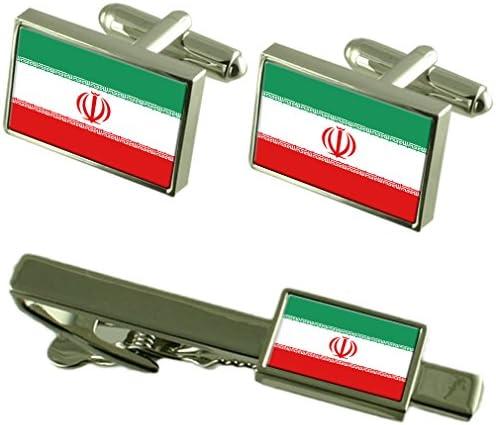 Select Gifts Markierung Ir acirc;n Manschettenkn ouml;pfe Krawatten passende Box Set