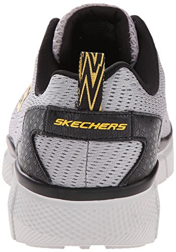 Skechers Sport Mens equalizer 2.0 True Balance Sneaker Gray/Yellow nwjddYWkr