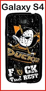 Anaheim Ducks Samsung Galaxy S4 Case Hard Silicone Case