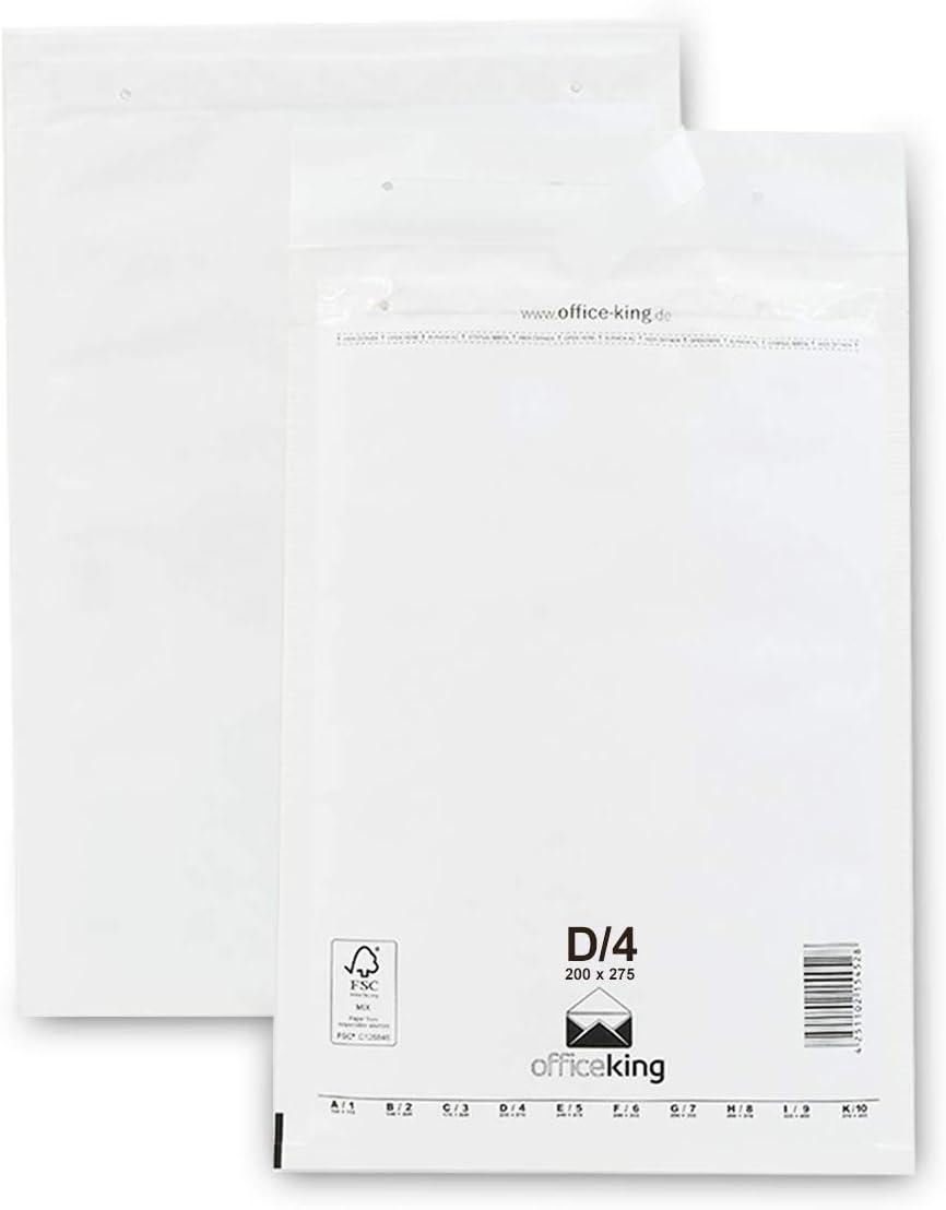 Luftpolstertasche Typ A DIN A6 Versandtasche 120 x 175 mm Umschlag