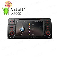 XTRONS Quad Core 7 Android 5.1 Lollipop Car Stereo Multi-touch Screen Radio DVD Player GPS CANbus Built-in DAB+ Tuner for BMW E46 320 325