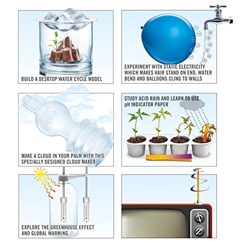 51arW%2BdidXL - 4M Weather Science Kit - Climate Change, Global Warming, Lab - STEM Toys Educational Gift for Kids & Teens, Girls & Boys