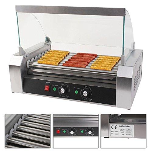 gas burner in hotdog cart - 2