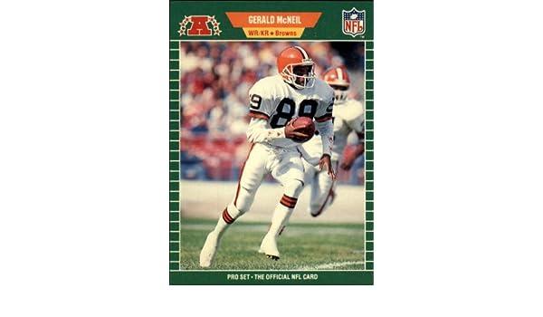 1989 Topps Traded #88T Gerald McNeil Cleveland Browns Football Card Verzamelkaarten: sport