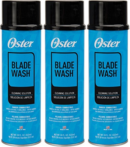 - (3 Pack) Oster Blade Wash Liquid Blade Dip, 18-Ounces