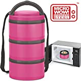 MILTON Insulated Lunch Box Bento Box - New First Microwave Safe...