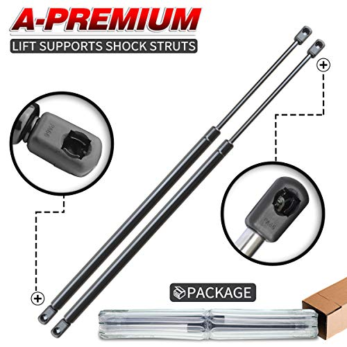 (A-Preimum Tailgate Rear Trunk Lift Supports Shock Struts for BMW E36 318Ti 1995-1999 Hatchback Only 2-PC Set)