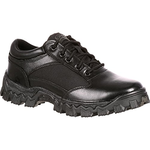Rocky Men's Alpha Force Oxford-M, Black, 10 W US