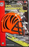 DuraPRO NFL Cincinnati Bengals 25 Foot Team Helmet Measuring Tape, NEW