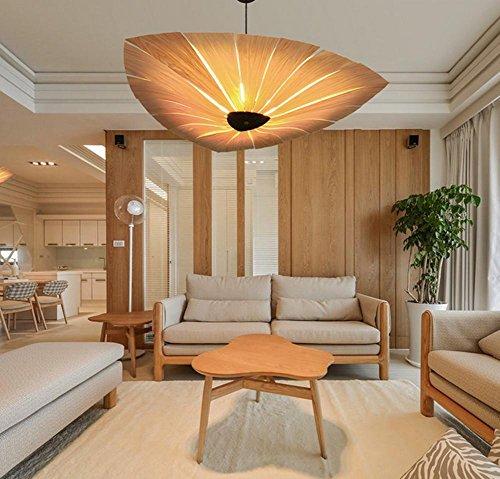 DGS Wooden Scandinavian Bakelite Lamps Pendant Lamps Project Restaurant Creative Wooden Lighting Pavillion - Pavillion Pendant Lighting