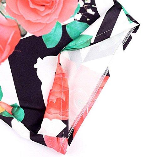 Colpo Tempo Lunga Libero Fiore Modello Moda Primaverile A Campana Femminile Slim Palazzo 1 Donna Fit Pantaloni Autunno Vintage Costume Pants Elegante Colour TrYxqUTwE