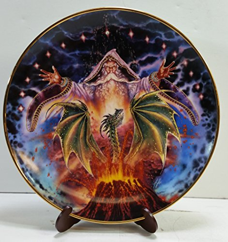 - Dragon Rising Franklin Mint Collectible Plate