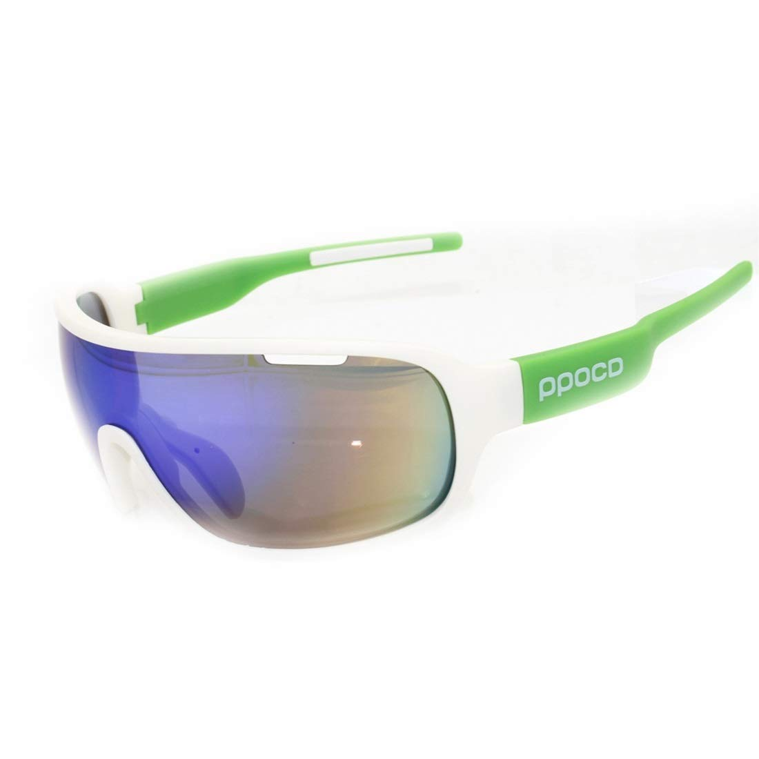 BAOYIT Outdoor Riding Windproof Sand-Proof Glasses Men and Women Riding Equipment Color Changing Lens Sports Running Glasses (Color : A) by BAOYIT