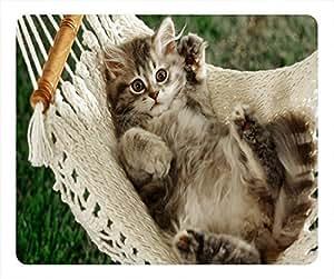 Cute Cat Design Rectangular Mouse Pad Warm