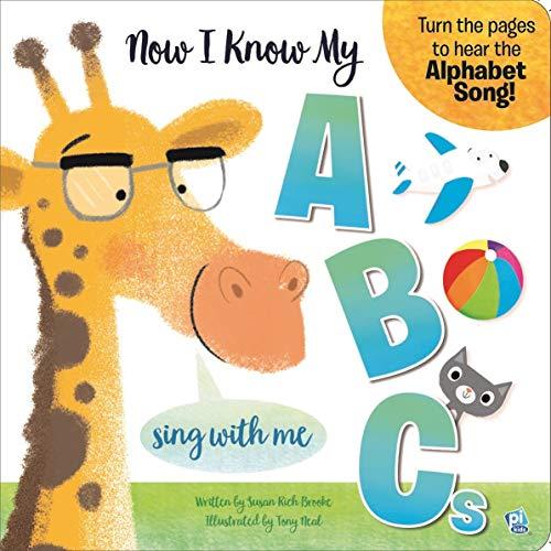 Now I Know My ABCs Alphabet Sound Book - PI Kids (Abc Flip Chart With Cd)
