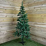 Classic Artificial Realistic Natural Branches Pine Christmas Tree Xmas Green-Unlit 4FT, 5FT, 6FT,7FT,7.5FT (5ft (150cm))