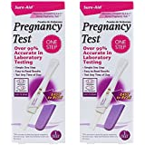 SURE-AID Pregnancy Test - One Step (2 pack)