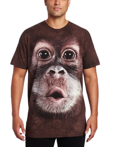 The Mountain Men's Big Face Baby Orangutan