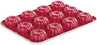 product image for Nordic Ware 12-Cavity Mini Bundt Cupcake Pan, Colors Vary