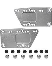 LS Swap Motor Mounts, SBC Motor Mount Adjustable Plate (16Pcs) for LS1 LS2 LS3 Billetby, 551628 Engine Swap Bracket