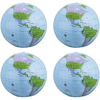 Amazon.com: pangda 8 unidades inflable globo PVC globo ...