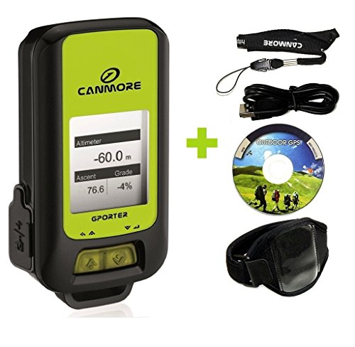 G-PORTER Multifunction Handheld GPS Device (green) with 15 Features/...