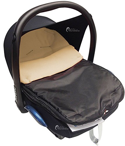 Car Seat Footmuff/Cosy Toes Compatible with All Car Seats Sand: Amazon.co.uk: Baby