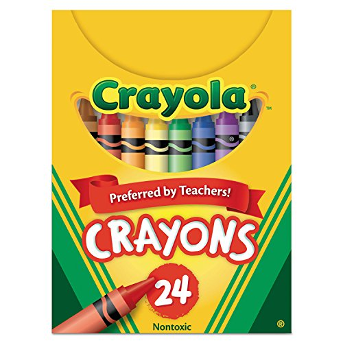 (Crayola 520024 Classic Color Crayons, Tuck Box, 24 Colors)