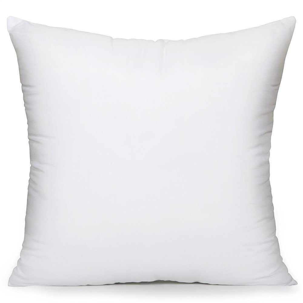 MoonRest Square Pillow Form Insert Hypo-allergenic Made in USA (12