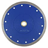 7 Inch Tile Blade,Stylish Y&I Porcelain Blade Super Thin Tile Cutter for Grinder Dry or Wet Ceramic Diamond Saw Blades With Adapter 7/8',20mm,5/8 Inch Abor(7 inch)