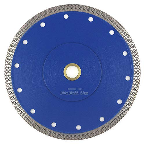 7 in wet tile saw blade - 8