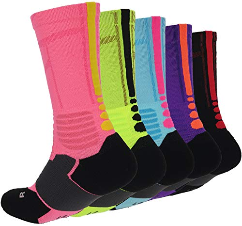 Thick Protective Sport Cushion Elite Basketball Compression Athletic Socks for